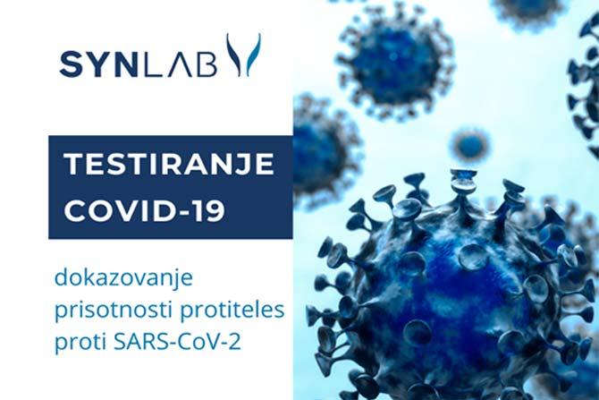 Testiranje za dokazovanje prebolele okužbe s koronavirusom COVID-19