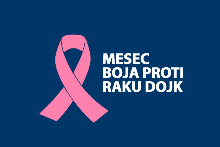 Oktober – Mesec boja proti raku dojk